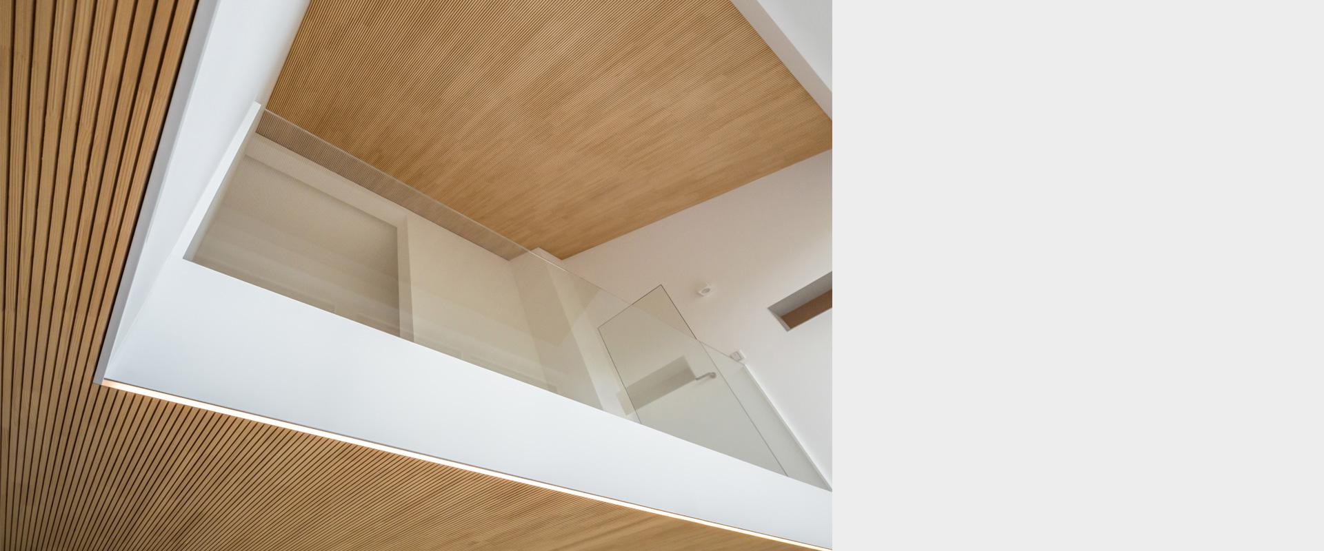 Architekturbüro musahl Waldshut Wohnhaus S. in Oberweschnegg Empore
