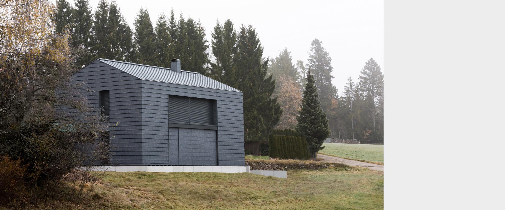 Architekturbüro musahl Waldshut Wohnhaus S. in Oberweschnegg geschlossen